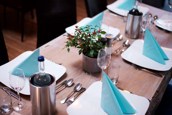 Gedeckter Tisch Event